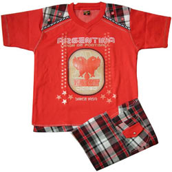 Red Kidswear for Boy.(7 year - 9 years)