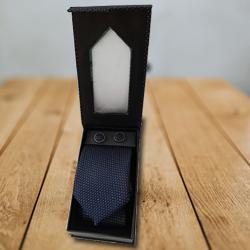 Prismatic Designer Set of Tie and Cufflink