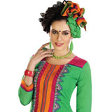 Gorgeous Cotton Printed Green Salwar Suit