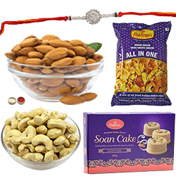 Stylish Rakhi Love Hamper Collection
