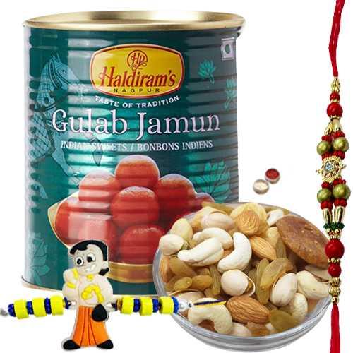 Admirable Blessings for Bhai Raksha Bandhan Hamper