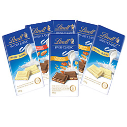 Mouth-Watering Treat of 6 Pc. Lindt Chocolate Bar