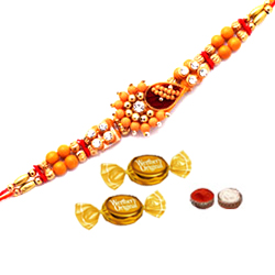 Colourful Ethnic Rakhi