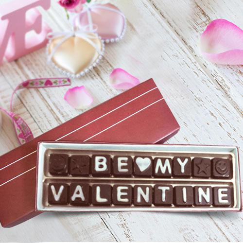 Exotic Be My Valentine 18 pcs Assorted Homemade Chocolates Pack