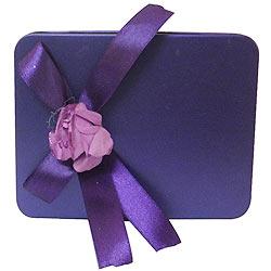 Marvelous Purple Box of Assorted Chocolates