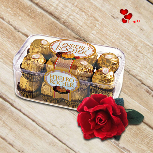 Book Ferrero Rocher N Velvet Red Rose Online
