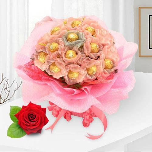 Book Ferrero Rocher N Velvet Red Rose Online