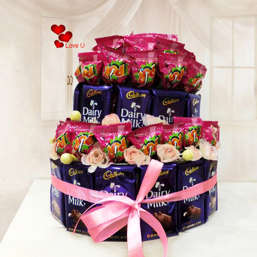 Deliver Online Chocolate Arrangement