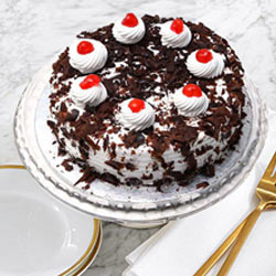 Irresistible Black Forest Cake from Taj or 5 Star Hotel bakery