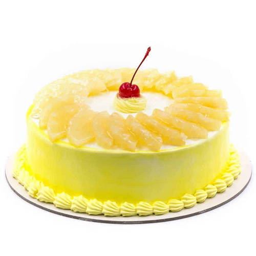 Order Online Pineapple Cake from Taj or 5 Star Hotel Bakery