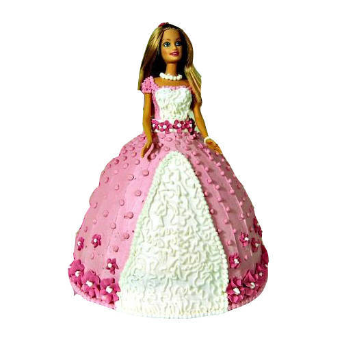 Enjoyable Barbie Cake
