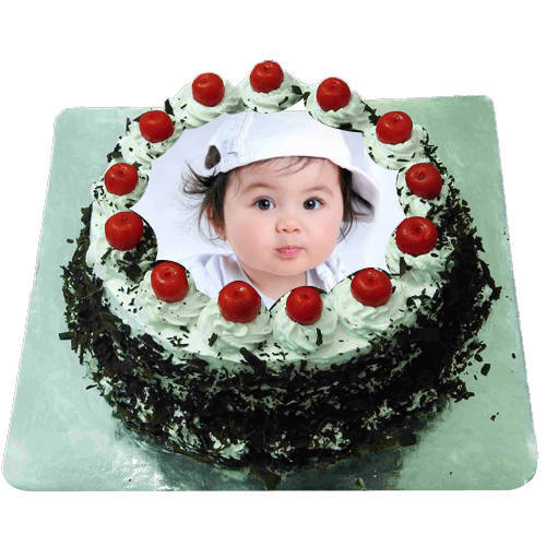 Order Black Forest Photo Cake