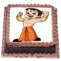 Baked Jolliness 2.5 kg Chota Bheem Cake