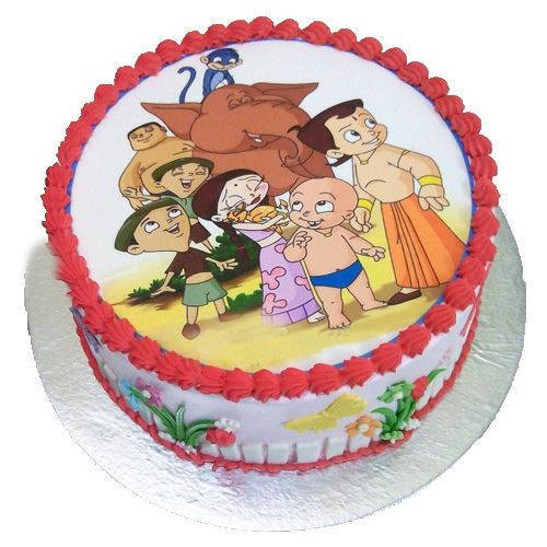 Jolly Good Chota Bheem Cake