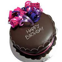 Dessert-to-Daze Happy Birthday Chocolate Cake