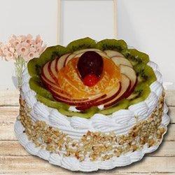 Eagerness's Pamper 1 Kg Fresh Fruit Cake