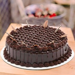 Elated Contentment 1 Lb Chocolate Cake from 3/4 Star Bakery