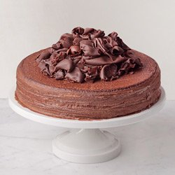 Irresistible Temptation 2.2 Lb Chocolate Truffle Cake from 3/4 Star Bakery