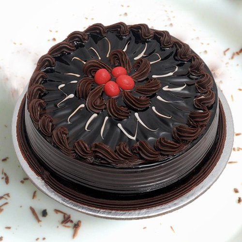 Online Chocolate Truffle Cake from 3/4 Star Bakery