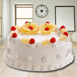 Profound Desire 2.2 Lb Eggless Pineapple Cake from 3/4 Star Bakery
