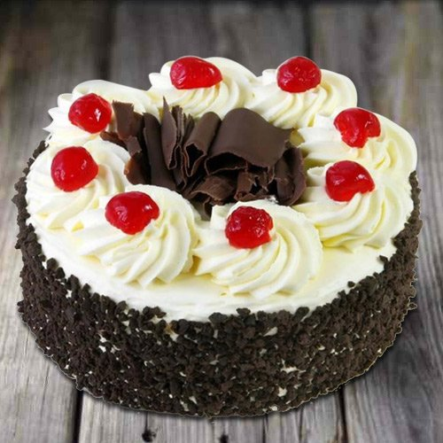 Delectable 2.2 Lbs Black Forest Cake from 3/4 Star Bakery