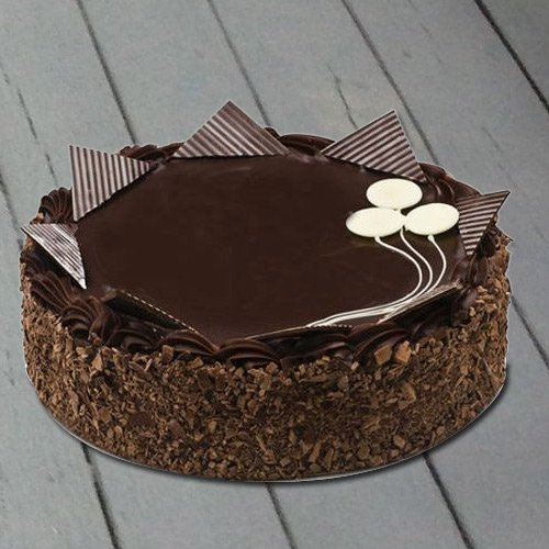 Appetizing 4.4 Lbs Chocolate Cake from 3/4 Star Bakery