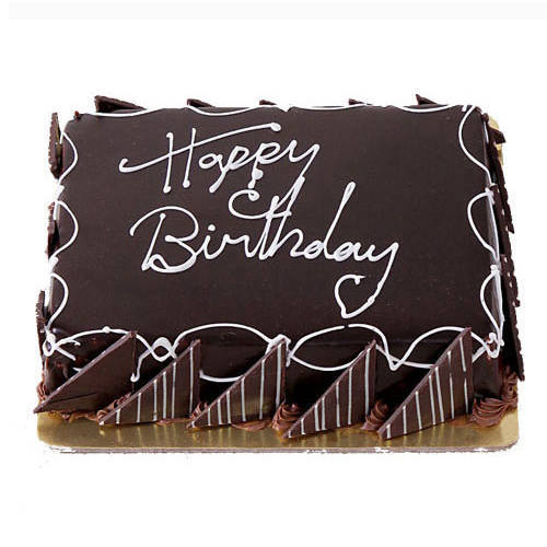 Send Birthday Eggless Chocolate Cake Online