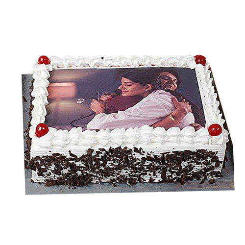 Online Order Black Forest Photo Cake