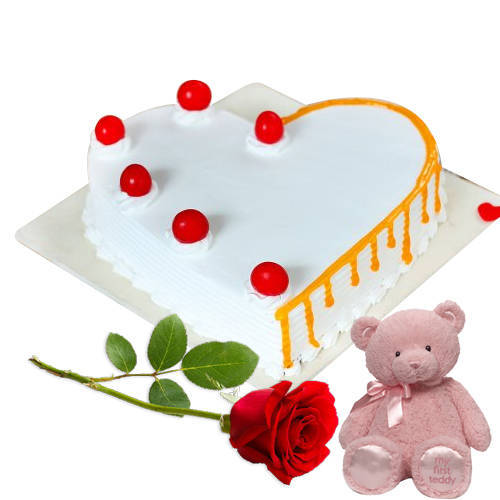 Online Deliver Strawberry Cake from 3/4 Star Bakery
