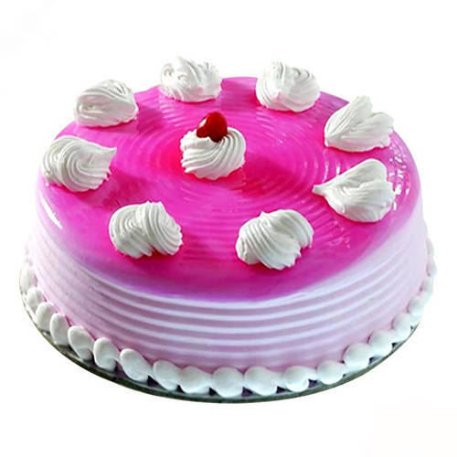 Book Online Strawberry Eggless Cake