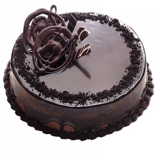 Send Eggless Chocolate Truffle Cake Online