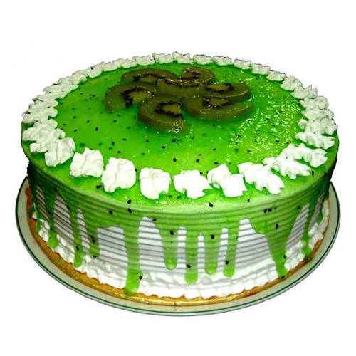 Send Online Eggless Kiwi Cake Online