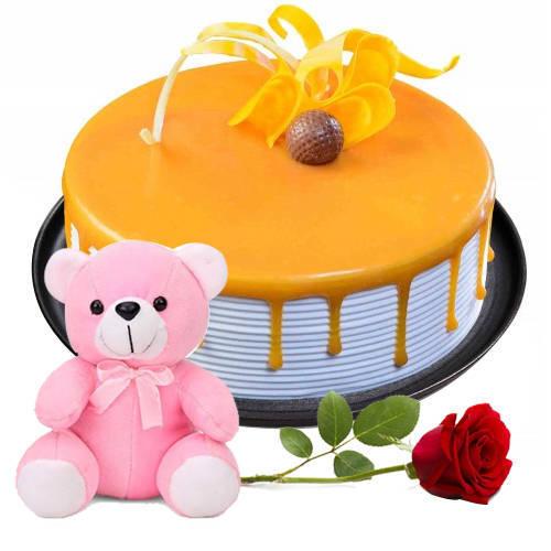 Gift Eggless Black Forest Cake Online