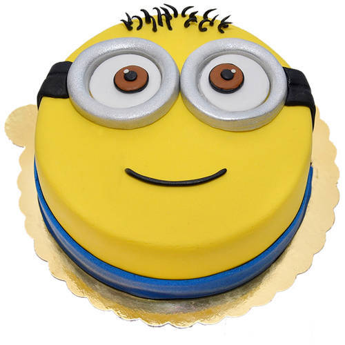 Book Online Happy Minions Fondent Cake for Kids