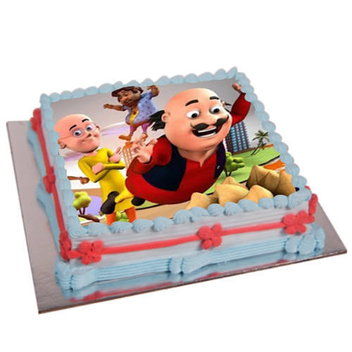 Book Kids Motu Patlu Photo Cake Online