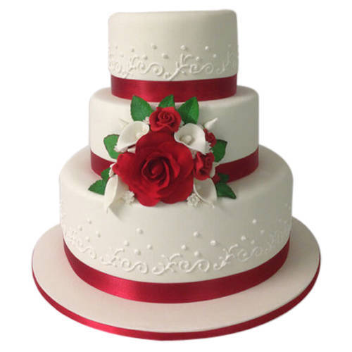 Buy 3 Tier Wedding Cake Online