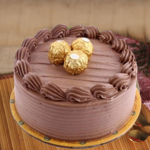Deliver Ferrero Rocher Chocolate Cake Online