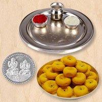 Haldiram Pedas N Thali , Free Coin