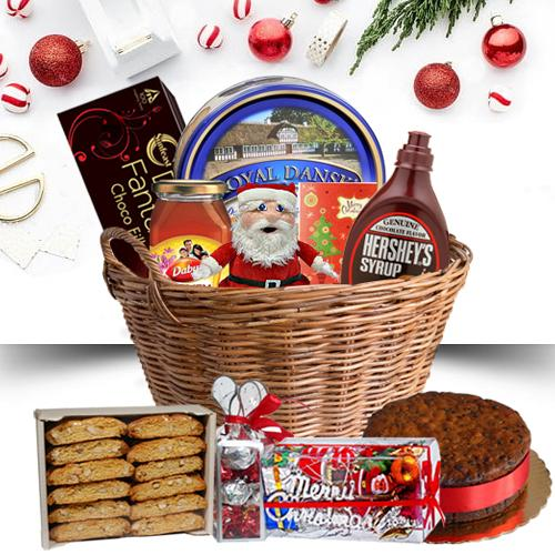 Amazing Christmas Hamper with Festive Excitement