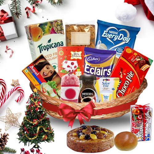 Mesmerizing Christmas Treasure Basket