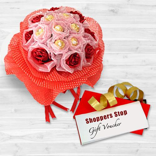 Gift Mixed Flowers n Vanilla Cake Online