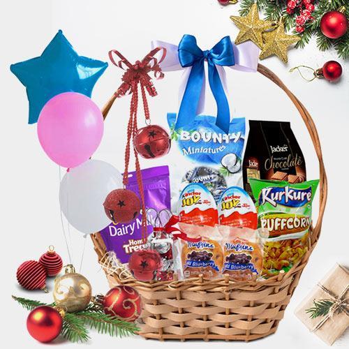 Lip-Smacking Festive Gift Basket