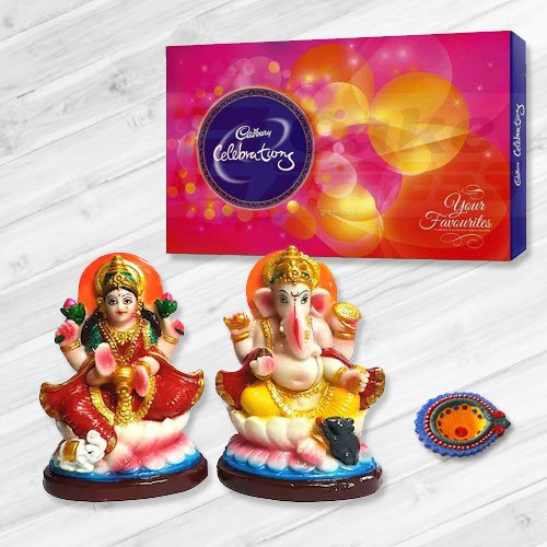 Ganesh Lakshmi with Cadbury's Celebration