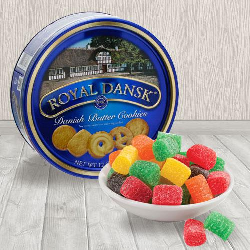 Cloying Christmas Jelly N Danish Cookies