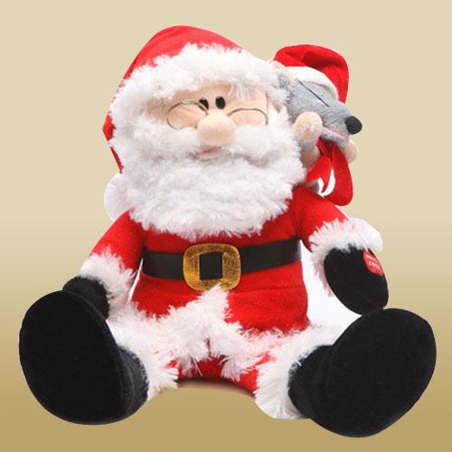 Cuddly Santa Clause Soft Toy