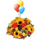 Bouquet with Balloons