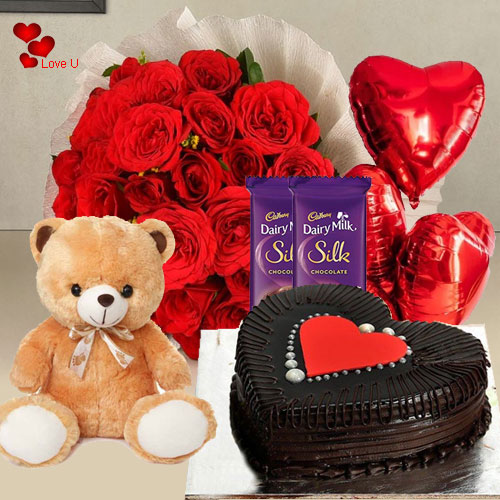 Send V-Day Surprise Gift Hamper Online