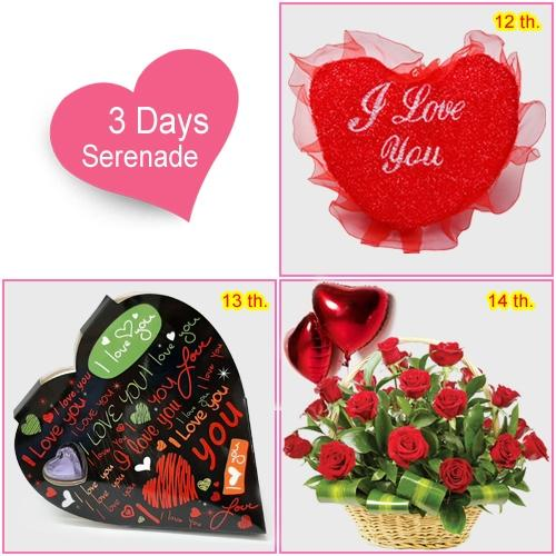 Order 3 Day Serenade Gifts for Top Women of your Life