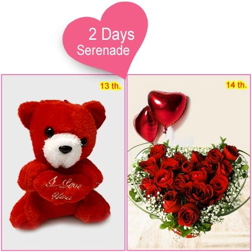 Buy 2-Day Serenade Gift for Lady Love