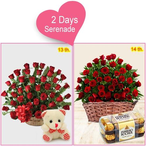 Mesmerizing 2-Day Serenade Gift Online